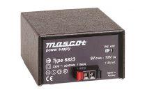 6823/24VDC 12 W Desktop mallinen AC/DC virtalähde; 12 - 24 VDC 0,5 A