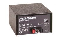 6823/+5 +/-12 11 W Desktop mallinen AC/DC virtalähde; +5±12 VDC 1±0.25A