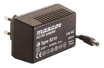8310/13VAC 3,5 VA plug-in mallinen AC/AC virtalähde; 13,0 VAC 250 mA
