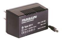 6,5 W plug-in mallinen AC/DC virtalähde; 12 VDC 542 mA 8511/12VDC