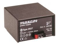 8937 SM 18 W Desktop mallinen AC/DC virtalähde; 5 - 24 VDC 2,0 A
