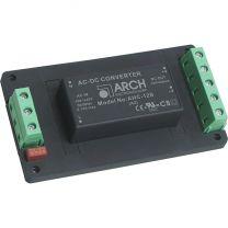 AHC-5S-A2 5 W AC/DC teholähdemoduuli asennuspohjassa; 5 VDC 1000 mA