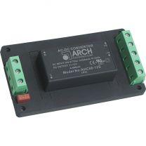 AHC08-12S7.5S-A2 8 W AC/DC teholähdemoduuli asennuspohjassa; 12 / 7,5 VDC 560 / 250 mA