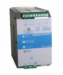 CBI126A 72 W akkuvarmennettu AC/DC hakkuriteholähde DIN-kiskoon; 10,0 - 14,4 VDC 6,0 A