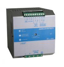 CBI2410A 240 W akkuvarmennettu AC/DC hakkuriteholähde DIN-kiskoon; 22,0 - 28,8 VDC 10,0 A