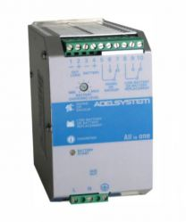 CBI245A 120 W akkuvarmennettu AC/DC hakkuriteholähde DIN-kiskoon; 22,0 - 28,8 VDC 5,0 A