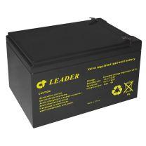 CT12-50W Suljettu AGM lyijyakku UPS-käyttöön 12V 13,6Ah