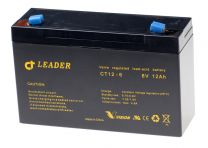CT12-6 Suljettu AGM lyijyakku 6V 12Ah