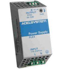FLEX6012A 72 W AC/DC hakkuriteholähde DIN-kiskoon; 10,0 - 15,5 VDC 6,0 A
