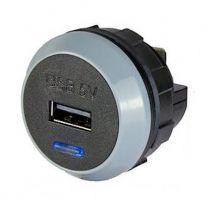 PVPRO-S 10 W tasoon kiinnitettävä USB-laturi, 9-32/5 VDC 2,1 A