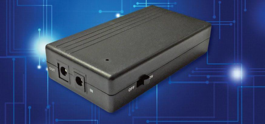 Desktop-malliset litium-akulla varustetut pienikokoiset DC-UPS -laitteet